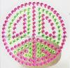 2016 de Recentste Stickers van het Lichaam van het Bergkristal van de Stok van het Teken van de Vrede Zelf (het teken van ts-300 perzik)