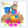 Vidrios de la playa de los niños de la promoción, jugando la arena, juguetes al aire libre 9 conjuntos