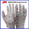 Покрынные PU трудные защитные перчатки работы Guantes (PU 1004)