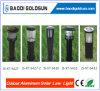 Lumières solaires en aluminium sans fil améliorées de pelouse de chemin
