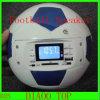 De Spreker van de voetbal USB met LCD de u-Schijf Flash+SD van de Steun van het Scherm Controle Card+FM+Remote