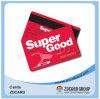Carnet de socio estándar de la tarjeta de la lealtad de la tarjeta del VIP del supermercado del PVC Cr80