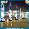 De hete Decoratie die van de Gebeurtenis van de Verkoop Opblaasbare Pijlers met LEIDEN Licht voor Verkoop afdrukken