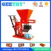 Máquina de fatura de tijolo pequena da argila da maquinaria do bloco do solo de Eco Brava