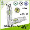 Освещение автомобиля СИД наивысшей мощности 80W (T10 BA9S T15)