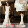 O vestido de casamento o mais novo da sereia do laço 2013 com trem da varredura (lx03)