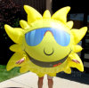 Neues Design Moving Inflatable Showing Sun Costume für Selling (BMIA344)