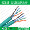 Câble duel de câble jumeau de Cat5e UTP pour l'installation plus facile à la maison