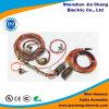Harnais industriel de fil pour le matériel avec le connecteur mâle et femelle