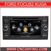 Reprodutor de DVD especial de Car para Ford Focus2 Kuga com GPS, Bluetooth. com o Internet de Dual Core 1080P V-20 Disc WiFi 3G do chipset A8 (CY-C140)
