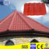 Rote Farben-gewölbte Dach-Stahlfliesen