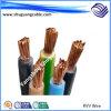 Кабельная проводка медного проводника гибкая электрическая