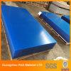 El panel plástico del acrílico PMMA del color azul