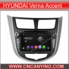 Reprodutor de DVD do carro para o reprodutor de DVD de Pure Android 4.4 Car para Hyundai Verna com A9 o processador central Capacitive Touch Screen GPS Bluetooth (AD-7025)