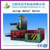 Hidráulica Residuos automática de papel Baler con Transportadores