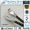 Hohe drehbares HDMI Kabel des Definition-Schwarz-90 (HS-5011)