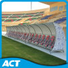 Neues Design Luxury Steel Frame Football Dugouts/VIP Player Seats/Football Player Bench für Outdoor