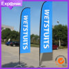 2.8m Exhibition Roadside Flag Banners with Printing