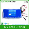 Navulbare LiFePO4 12V 12ah Battery