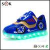 La mode chaude de la vente 2017 badine l'éclairage LED vers le haut des chaussures avec les chaussures quatre-saisons de sports d'espadrilles pour des enfants