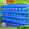 PE Tarpaulin Roll 50GSM-300GSM Кореи с UV Treated для Car /Truck/Boat Cover