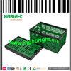 Caixa dobrável plástica comercial do armazenamento