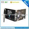 Рециркулированная карточка брошюры индикации дела 4.3 LCD видео-