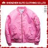 Großhandelswinter kleidet kundenspezifische rosafarbene Bomer Umhüllung (ELTBJI-2)