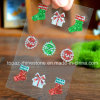La Navidad Bling Stones Sticker con Glitter Sticker para Toy