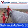 Linea di produzione del tubo del polietilene dell'espulsore del tubo dell'HDPE riga dell'espulsione del tubo del rifornimento idrico della macchina dell'espulsione del tubo di pressione