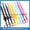 Transparenter freier Regenschirm Haube-Form-Fantasie farbiger Plastik-PVC-Poe