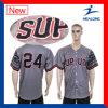 Stampa poco costosa di Digitahi degli abiti sportivi di Healong con il baseball Jersey del Mens di marchio del ricamo