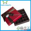 Kundenspezifischer Papierschokoladen-Süßigkeit-Kasten, der mit Farbband verpackt