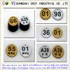 1.5mm ABS de Dubbele Raad van de Kleur met Kleefstof
