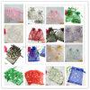 분류한 색깔 결혼 선물 호의는 보석 Organza X-Mas 사탕 주머니 5*3.5를  자루에 넣는다 (JGF-120116)