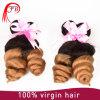 Ombre #1b/27 desserrent l'armure brésilienne de cheveux de cheveux de vague
