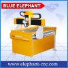 Mini ranurador 6090 4 eje, arrabio del CNC 3D de la máquina de grabado del CNC para la industria de publicidad