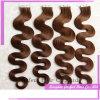Tessuto brasiliano dei capelli umani di estensione 100% dei capelli umani