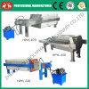 Máquina hidráulica de la prensa de filtro del aceite de cocina del compartimiento (0086 15038222403)