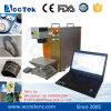 Машина маркировки лазера волокна Acctek 10W 20W 30W, портативная миниая машина маркировки лазера волокна, машина маркировки лазера волокна Ipg