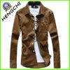 人のコーデュロイのワイシャツかコートのジャケット(H-005)