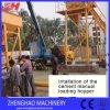 Hzs 35 Concrete het Mengen zich Post, de Plaats van de Installatie van de Cliënt van de Installatie van de Mixer van het Cement