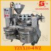 Combined avancé Spiral Oil Press avec Oil Filter et Electric Heater