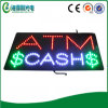 ShopのためのLED ATM Cash Window Sign
