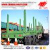 材木のトレーラーの木製の輸送のトレーラーの記録の輸送の半トレーラー