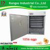 Retenir le poulet 1056 Eggs le CE incubateur reconnu de 1056 oeufs à vendre (KP-10)