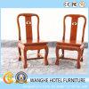 宴会の椅子を食事する安い中国の旧式なホテルのレストラン