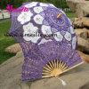 Parasol victorien de lacet, parasol pourpre de lacet