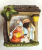 Regalos de la casa de la Navidad de la resina