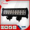 guide optique tous terrains de la collecte LED de camion de 10 '' 60W Epistar